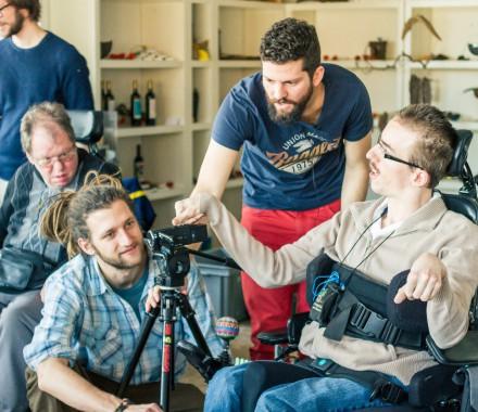 Achsensprung | Mitarbeit am Filmprojekt